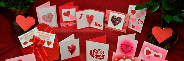 Открытки-валентинки на 14 февраля