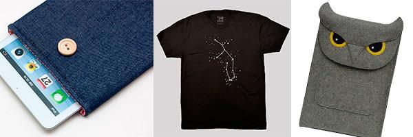 Чехол и футболка ручной работы
