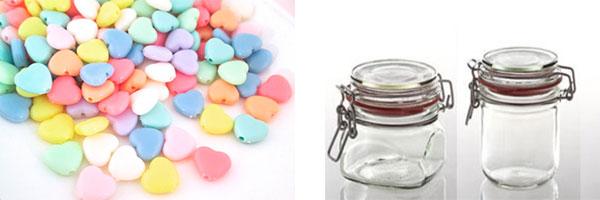 Стеклянные банки и мармелад для витаминок счастья