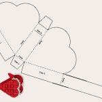 Схема коробочки в виде сердца
