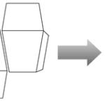 Схема квадратной коробочки