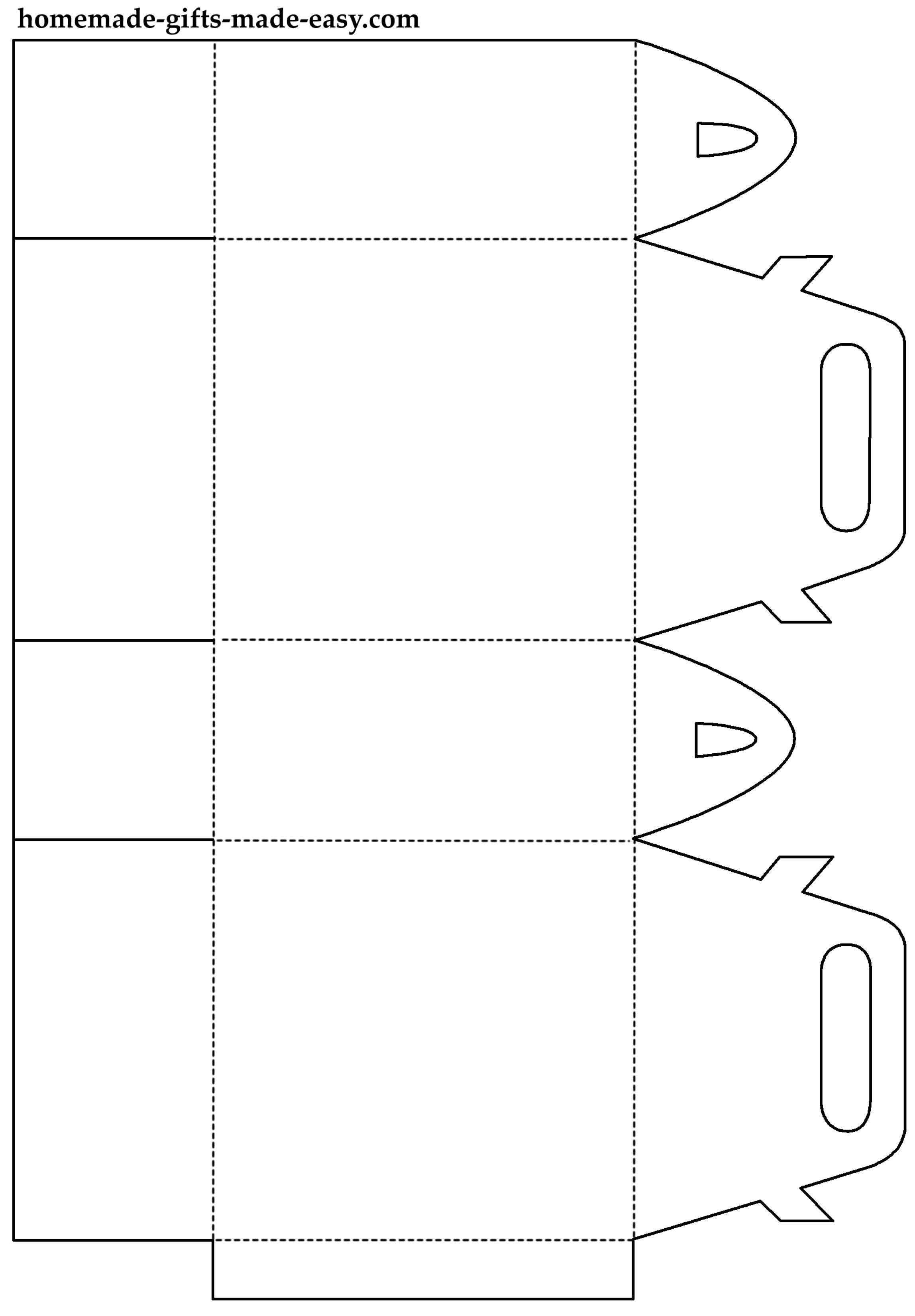 коробки своими руками из бумаги схема
