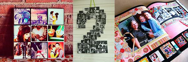 Идеи подарков из фотографий