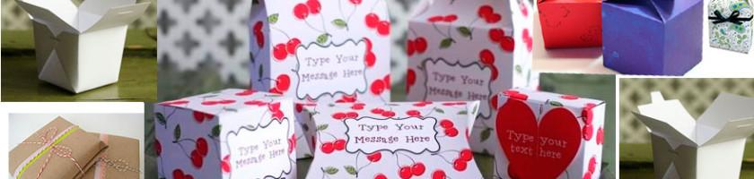 Разные варианты упаковки подарков