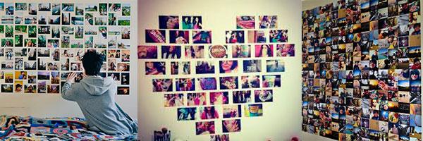 Идеи для стены из фото