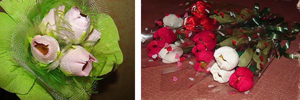 Примеры композиций из конфет