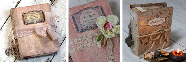 Книга пожеланий в винтажном стиле