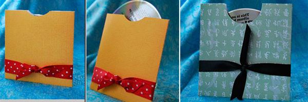 Диски в конвертах ручной работы