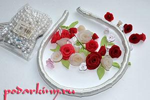 Материалы для ободка с цветами