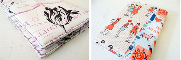 Обложки из ткани