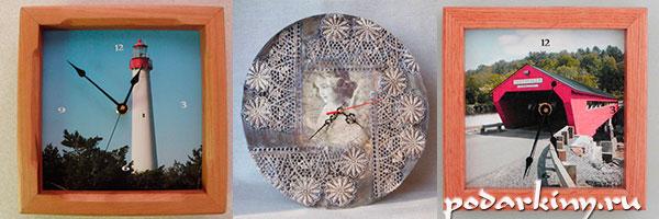 Часы из фоторамки