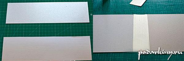 Работа над папкой альбома для монет