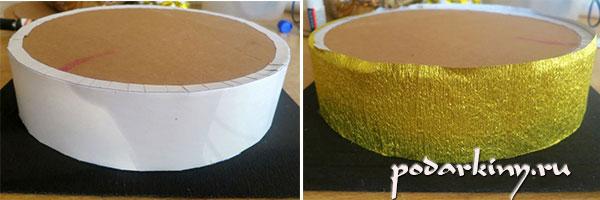 Основа для торта из конфет