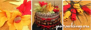 Торт из конфет - пошаговый мастер-класс по изготовлению