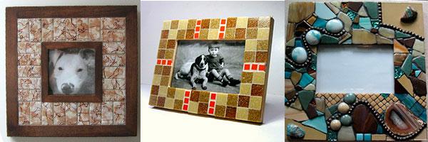 Мозаика в декоре рамок