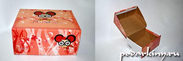Как сделать шкатулку из обувной коробки