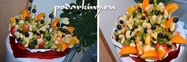 Букет из фруктов своими руками