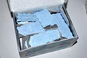Чайные пакетики с пожеланиями внутри шкатулки