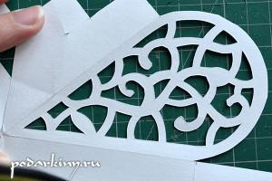 Вариант орнамента для вырезания