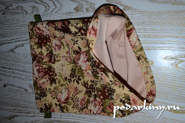 Двойной мешок с подкладкой