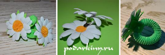 Ромашка из фоамирана - создаем своими руками