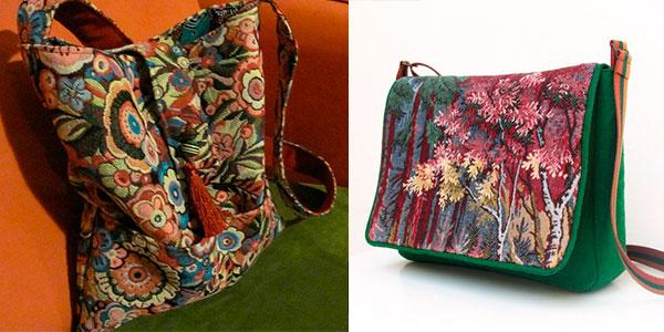Идея для пошива гобеленовых сумок
