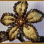 Сюрприз для сестренки: оригинальный цветочек из кофейных зерен
