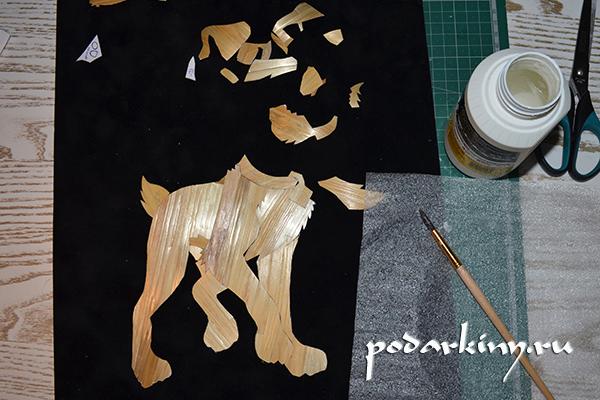 Мастер-класс: как сделать картины из соломы?