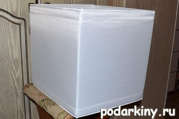 Коробка из икеи для лайткуба